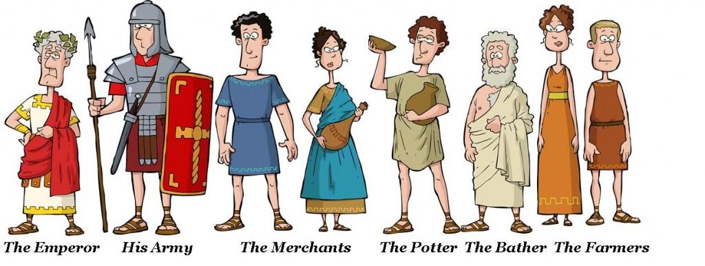 Castor Roman Characters
