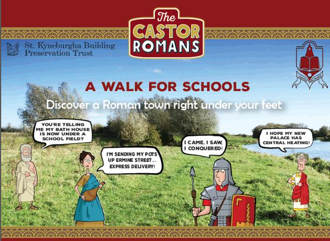 Roman Walk leaflet small